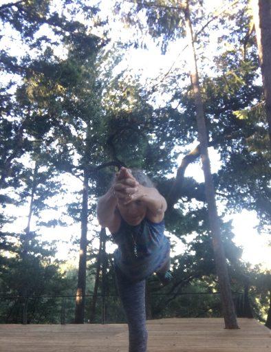 Warrior 3 in the Redwoods